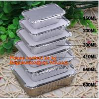 Disposable Aluminium Foil Tray, Container for Food Packaging, foil lunch box, aluminum lunch box, foil bowl, deli tray Manufactures