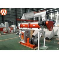 150kw Pellet Production Equipment , Stable Performance Farm Industry Feed Pellet Plant Manufactures