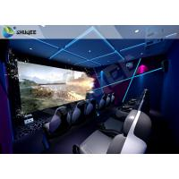 Gaming Room Luxury 5D movie theater seats With Dynamic Effects Manufactures