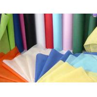 Needle Punched Geotextile / Non Woven Geotextile Fabric in Blue , Pink , Yellow Manufactures