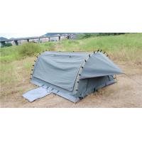 4WD Swag 1 Person Canvas Tent Fire Prevention Fabric Material For Outdoor Entertainment Manufactures