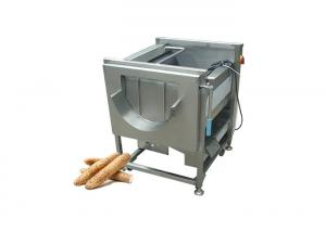 Potato Washing And Peeling Machine Sweet Potato Brush Washing Machine For Fruit And Vegetable Manufactures