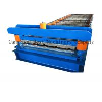 Buy cheap Aluminum IBR Roofing Sheet Roll Forming Machine Colored Steel Tile Type from wholesalers