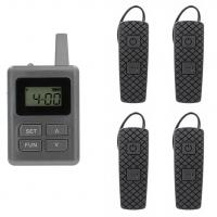 100 Channel E8 Ear Hanging Wireless Tour Guide System , Simultaneous Translation Equipment Manufactures