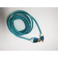 Colorful brainded USB data cable for micro smartphone CC-113