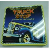 wholesale music cd tin box with hinge Manufactures