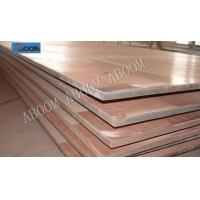 China Double / Three Layer Bimetal Clad Plate Copper Stainless Steel Anti Corrosion on sale
