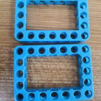 Lego Toys Parts Plastic Moulding Parts Blue Color With Long Service Life Manufactures