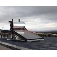 Buy cheap Aluminium Alloy Flat Plate Solar Collector , Home Solar Water Heating System from wholesalers