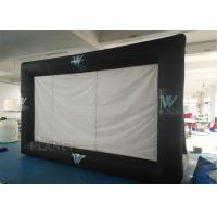 Portable Inflatable Projector Movie Screen Logo Printing EN14960 Approved Manufactures