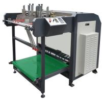 Powerful Automatic Grooving Machine , Box Making Equipment High Speed Manufactures