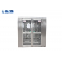 Food Beverage Factory High Safety Cleanroom Air Shower Manufactures