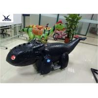 Coin Operated Motorized Animal Scooters Game Electric Toy Car Length 1.7 M - 2 M Manufactures