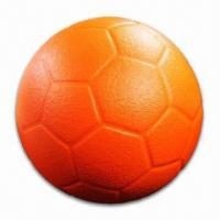 8.3-inch Soccer Ball with Coating, Made of PU Foam Manufactures