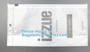 HOOK HANDLE BAGS, RIGID HANDLE ZIPPER BAGS, SWIMWEAR BAGS Custom Hanging Hook Packaging Bag Manufactures