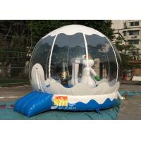 Outdoor Bounce House Snowman Inflatable Kids Jumping Bouncer for Garden