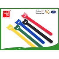 Durable T shape hook and loop cable tie roll  nylon material 150 * 12mm Manufactures