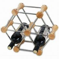 4-bottle Wire Wine Rack, Suitable for Homes, Hotels and Stores, Customized Designs are Accepted Manufactures
