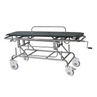 First Aid Patient Transport Stretchers With Back Rest And Oxygen Cyliner Holder Manufactures