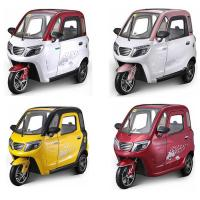 60V 1500W ABS Enclosed Scooter Trike Manufactures