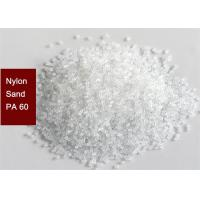 Artificial Abrasive Plastic Media Blasting Nylon Sand PA60 For Surface Pre - Treatment Manufactures