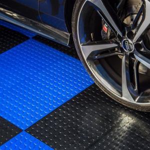 Cheap wholesale interlocking PVC garage flooring tiles ew mold 300*300mm anti-slip interlocking pvc floor mat Manufactures