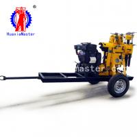 China China In Stock XYX-130 Wheeled Hydraulic Drilling Machine Water Well Drilling Rig  For Sale on sale