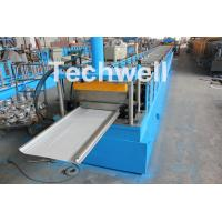 PLC Control Cold Roll Forming Machine For Different Size Garage Door Panel Manufactures