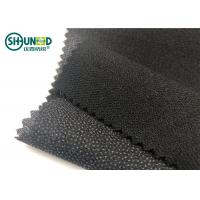 Twill Woven Woven Interlining Stretch Interfacing White And Black Color Manufactures
