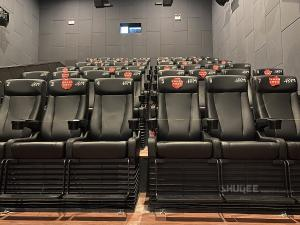 Strong Tech 4D Cinema Motion Seats Leather Chair Customizable Logo Manufactures