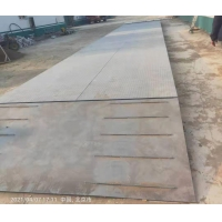 Buy cheap 3.4X20M 80Ton Manganese Steel Weighbridge Digital Load Cell Truck Scale from wholesalers