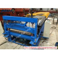 China Corrugated Roof Panel Roll Forming Machine 10mm Low Rib For Galvanized Steel on sale