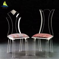Buy cheap Bedroom Custom Acrylic Furniture Eco - Friendly Clear Transparent Acrylic Chair from wholesalers