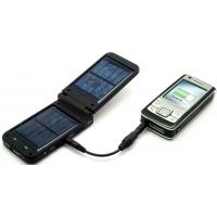 OEM Customized 1200MAH Solar Powered Mobile Phone Charger 5V / 500mA Input Manufactures
