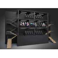 Suspended Dome Theater with 13 Meters Edgeless Screen and 20 Motion Seats Manufactures