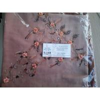 SPUN POLYESTER EMBROIDERY SCARF Manufactures