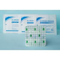 Transparent PU Polyurethane Wound Dressing Waterpoof Medical Use With Pad Manufactures