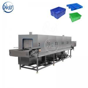 Efficient Transfer Box Plastic Crate Washing Machine , High Pressure Washing Machine Manufactures