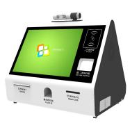 Customized Desktop Self Check In Kiosk , 1920 x 1080 Self Check In Counter Manufactures