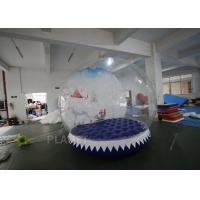 3m Inflatable Human Size Snow Globe For Promotion Fire Retardant Manufactures