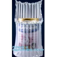 air cushion pillow bags, inflatable air filled pillow bag, shockproof recycable air pillow glass bottle bag, bagplastics Manufactures