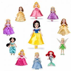 China Disney Original Princess Plush Toys Wholesale on sale