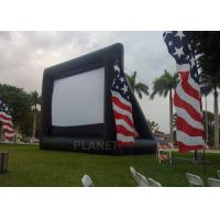 Advertising Inflatable Outdoor Movie Screen , Inflatable Projector Screen Manufactures