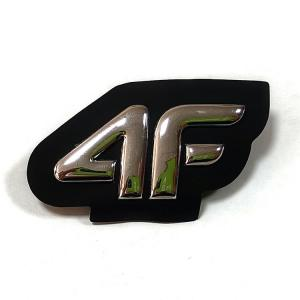Welding Print Sew On Embossed Ironing Reflective 3D TPU Badges For Clothing Manufactures