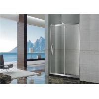 Buy cheap With Frame Inline Bathroom Glass Shower Screen 304 Stainless Sliding Steel from wholesalers