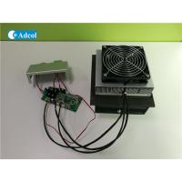 Compact 100W 48VDC Thermoelectric Air Conditioner With Controller And Cover Manufactures