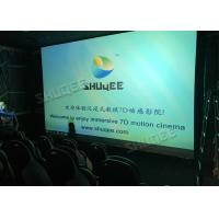 380V 9D Movie Theater For Commercial Shopping Mall Or Amusement Attraction Manufactures