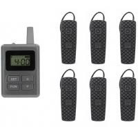 E8 Ear - Hanging Wireless Horse Instruction System Tour Guide System With Transmitter And Receiver Manufactures