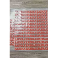 Custom 3D Rubber Silicone Heat Transfer Clothing Label For T Shirt Manufactures