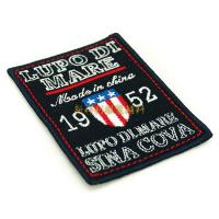 Eco Friendly Clothing Embroidered Patches , Iron On Embroidered Patches For Clothes Manufactures